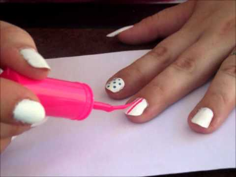 Basic Nail Design Tutorial Youtube