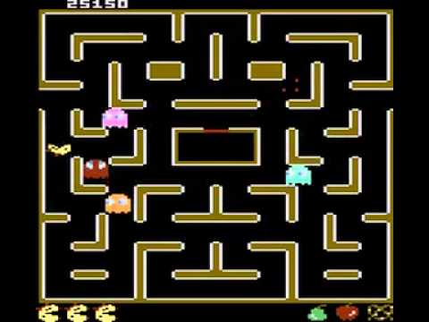 Mspacman Pretzel Start Offoff 5 Lives Atari 7800 Youtube