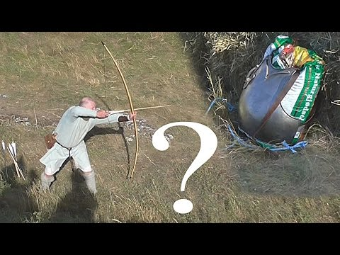 Medieval Warfare Showdown: Longbow Vs. Steel Breastplate