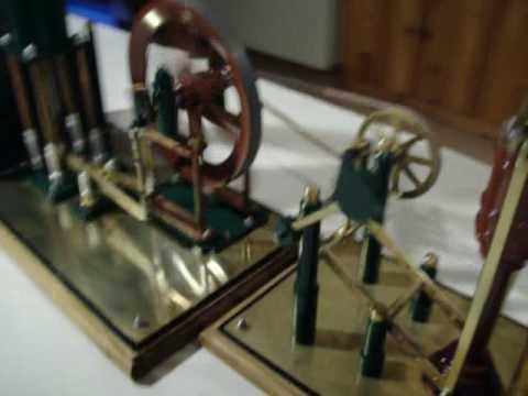 Moteur Stirling et Pompe à eau