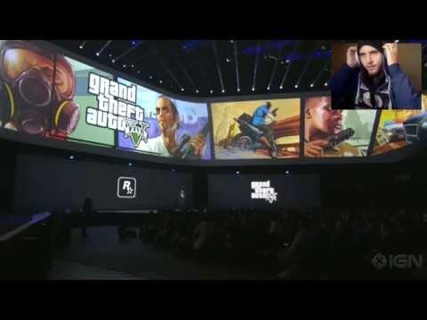Mi momento E3 2014 - Reacción Anuncio Grand Theft Auto V para PC, PS4 y Xbox One (Español/CL)