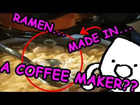 Cooking Ramen in a Coffee Maker