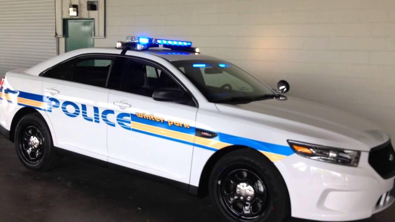 Hg2 Emergency Lighting Winter Park Police Dept Ford Interceptor Sedan Youtube