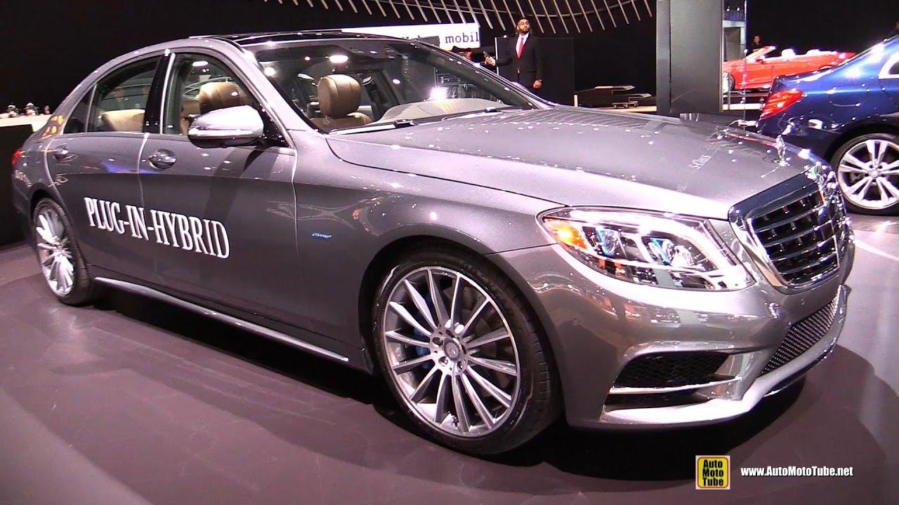 2017 Mercedes S Class Plug In Hybrid S550e Exterior And Interior