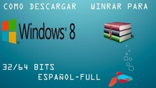Descargar winrar para Windows 8 full en español