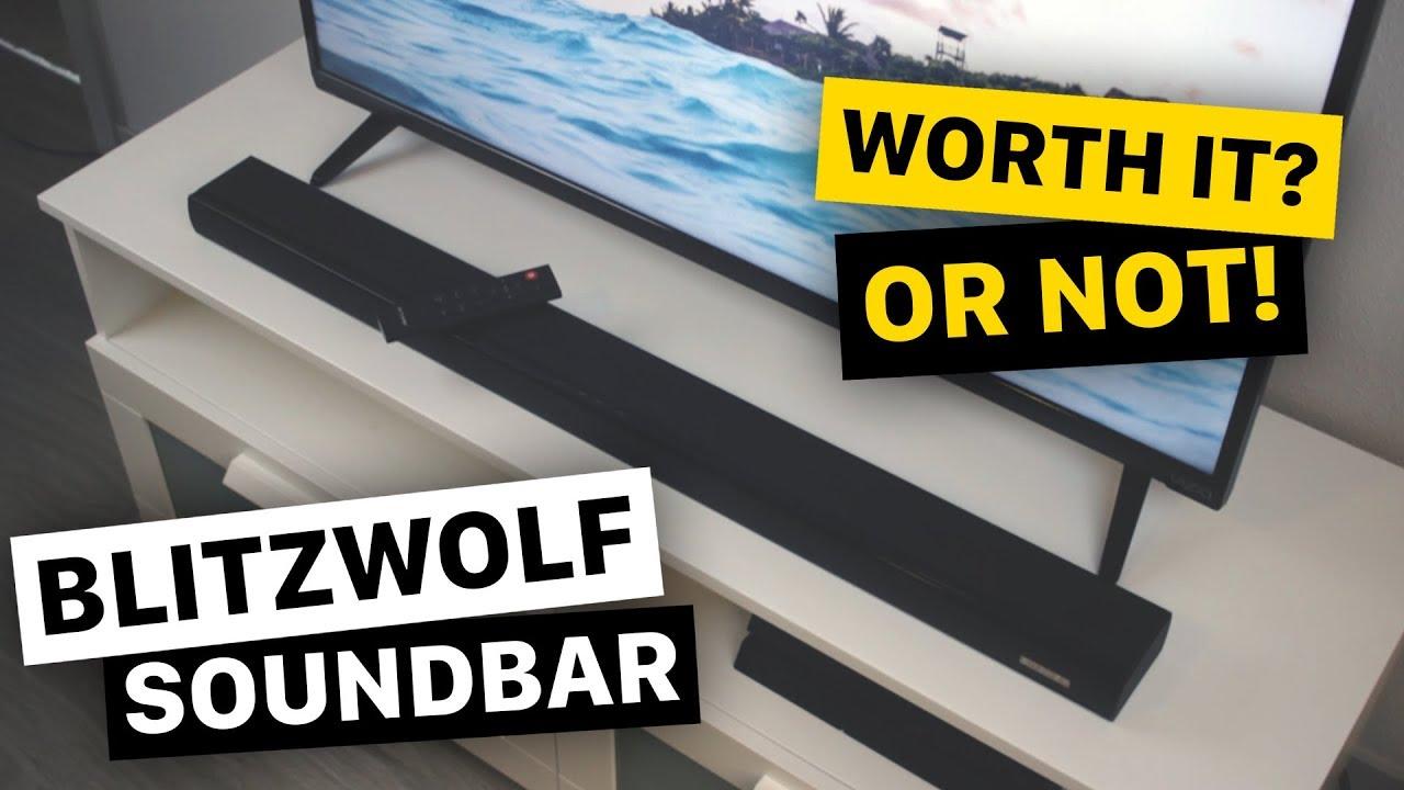 744f4f138a7 Blitzwolf BW-SDB1 Soundbar Review - Worth it  - YouTube
