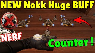 *NEW BUFF* Nøkk Can Counter [Melusi + Ela + Kapkan] | Blackbeard Huge NERF - Rainbow Six Siege