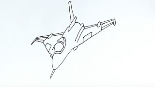 How to Draw a Fighter Jet