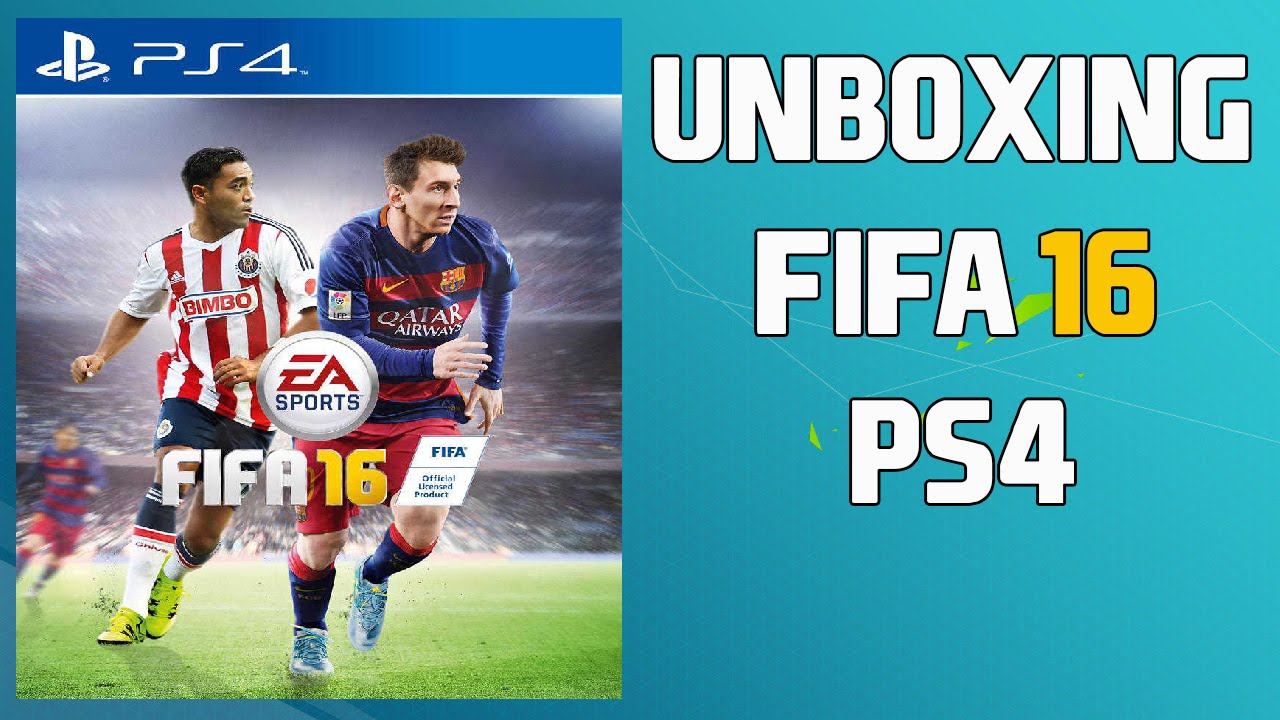 unboxing fifa 16 ps4 espa ol youtube. Black Bedroom Furniture Sets. Home Design Ideas