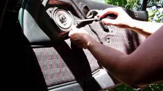 Comment démonter un panneau de porte sur Citroën ZX