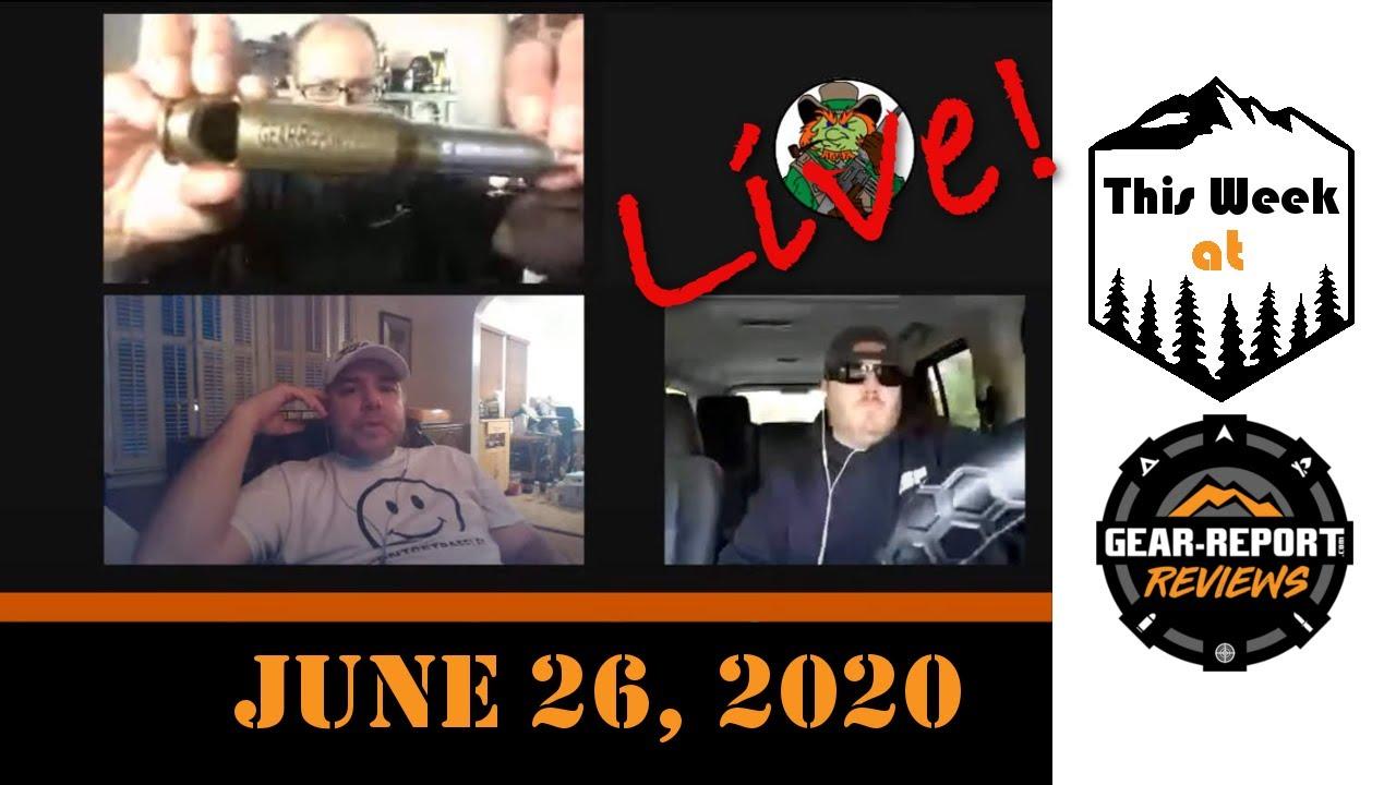 This Week at Gear Report LIVE! - 26Jun20