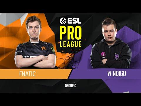 CS:GO - Fnatic vs. Windigo Gaming [Train] Map 1 - Group C - ESL Pro League Season 9 Europe