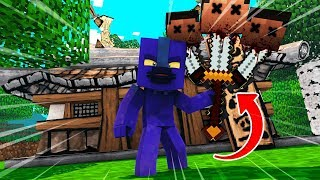 Crazy Minecraft - SECRET WAY TO FIND THE MOST OVER POWERED SWORD!