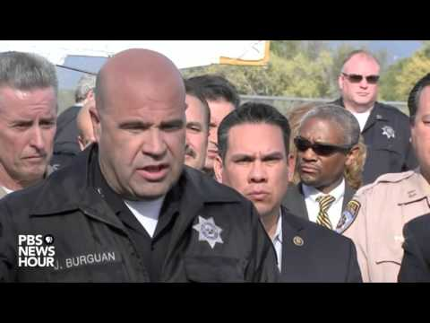 Watch: Police release details of the San Bernardino shooting