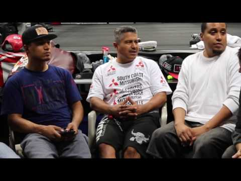 "ROBERT GARCIA ""FREDDIE ROACH IS MORE OF A CHALLENGE THAN A RIVALRY!"""