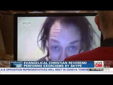 CNN: Christian Exorcist Bob Larson Uses Skype to Cast Out Demons
