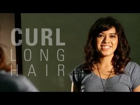 How to Curl Long Hair With Bangs