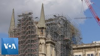 Construction Resumes at Notre Dame Cathedral After Lead Contamination Fears