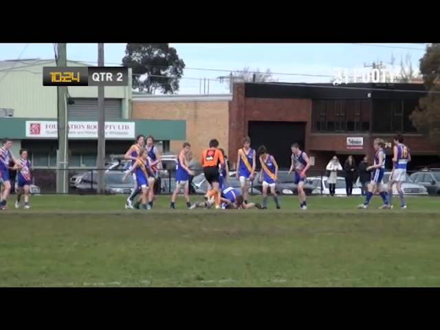 2012 SMJFL Grand Final Under 13 Div 1 - East Malvern Gold v Beaumaris Sharks