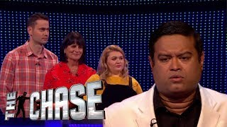 The Chase | Oliver, Deb and Honey's Incredible £75,000 Final Chase With the Sinnerman