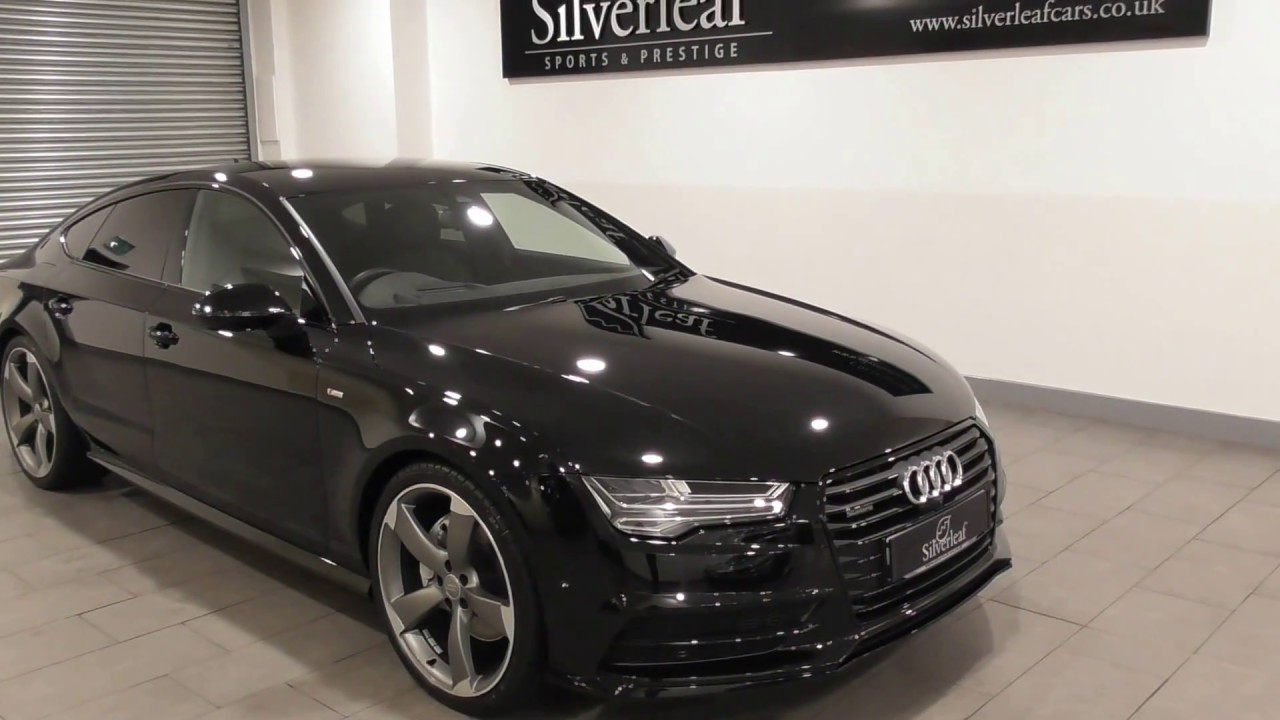 audi a7 sportback tdi quattro s line black edition youtube. Black Bedroom Furniture Sets. Home Design Ideas