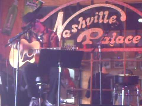 Todd Andrews At the Nashville Palace
