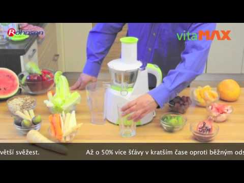 Fresh Max Cold-Press Slow Juicer R-459 Rohnson Doovi