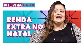 COMO FAZER RENDA EXTRA NO NATAL!? Quanto será que a Bruna faturou? #TEVIRALINDA