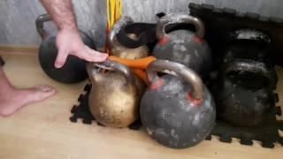 Выпуск №1. О тренинге с тяжелыми гирями, о рывке гири 80 кг и о толкателях ядра