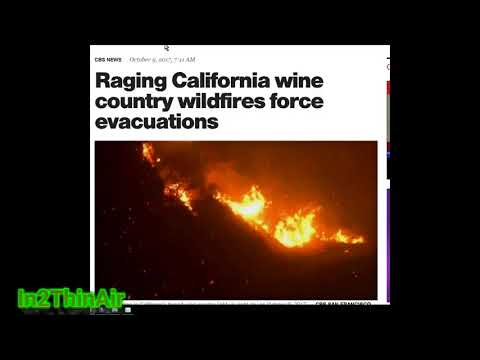Wildfires in California -  *BREAKING* NAPA California WILD FIRES From METEORITE Strikes?! NEW Hamps