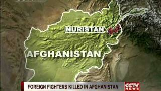 Foreign fighters killed in Afghanistan after border crossing