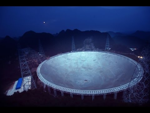 China switches on world's  largest  radio telescope