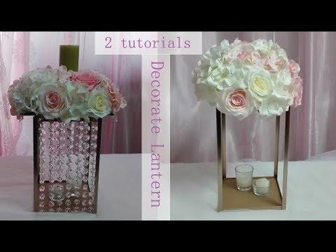 DIY lantern / wedding centerpiece / table decoration ...