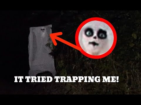 THE HALLOWEEN GHOST TRIED TO CAPTURE ME! *No Way!*
