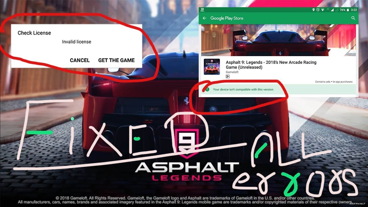 Asphalt 9: Legends 1 1 4a APK + OBB is Here! [Latest