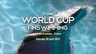Finswimming - World Cup 2019 3rd Round - Aix-en-Provence, France - Day 1/2