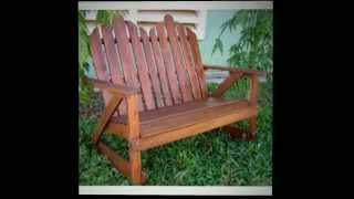 Adirondack Double Rocking Chair