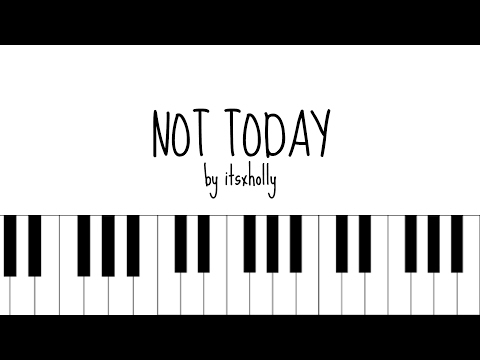 NOT TODAY - BTS - Piano Tutorial