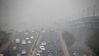 New Delhi smog surpasses hazardous levels