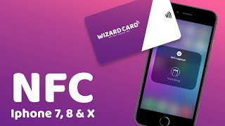 NFC instellen op iPhone 7, 8 of X met IOS14