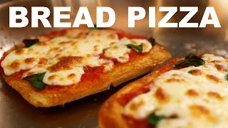 French bread pizza (I seriously made a video about...)