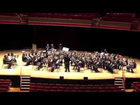 Luton Youth Concert Band (LYCB) Amazonia performed at the Music for Youth Finals 2014