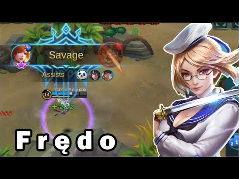 FREDO INSANE FANNY SAVAGE PENTAKILL | HIGH GLORIOUS RANKED GAMEPLAY (Mobile Legends)