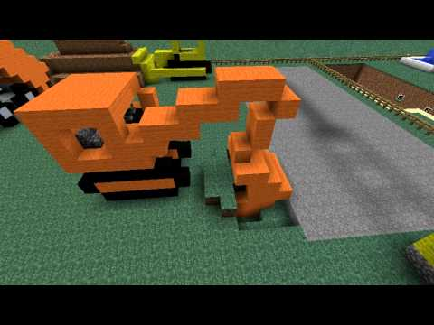 Minecraft build under construction youtube - Site de construction minecraft ...