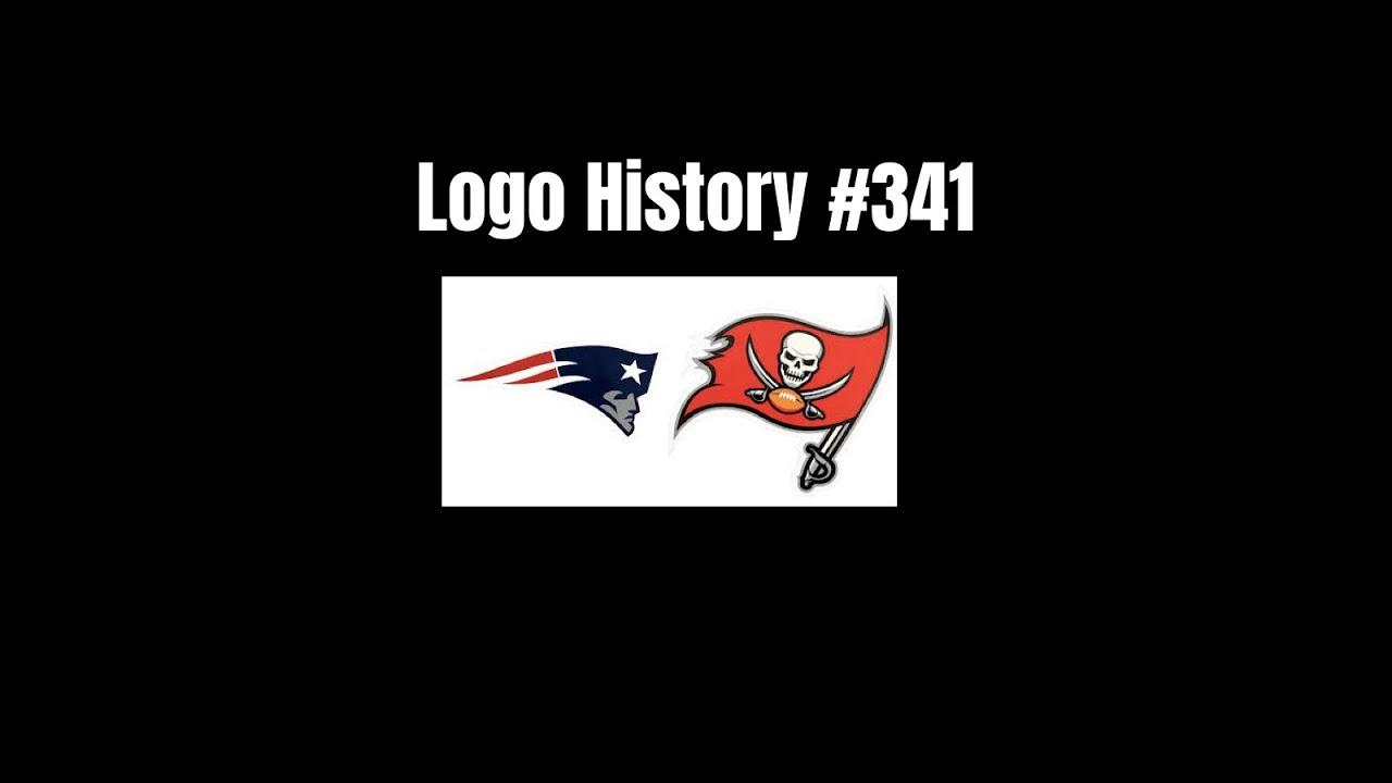 Logo History 341 New England Patriots Tampa Bay Buccaneers Youtube