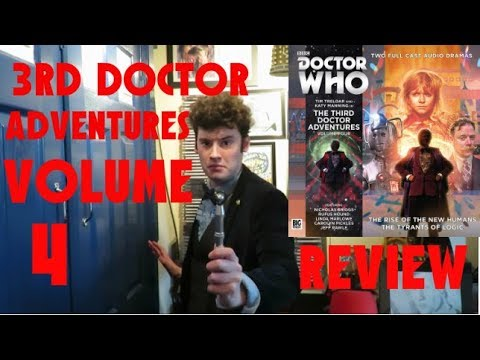 Doctor Who 3rd Doctor Adventures Volume 4 Big Finish Review