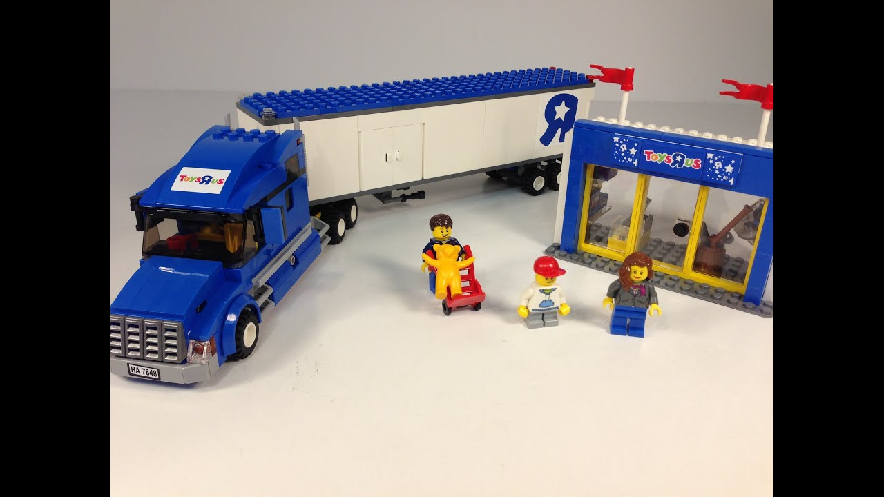 Lego Sets At Toys R Us : Lego city toys r us truck exclusive tru set youtube