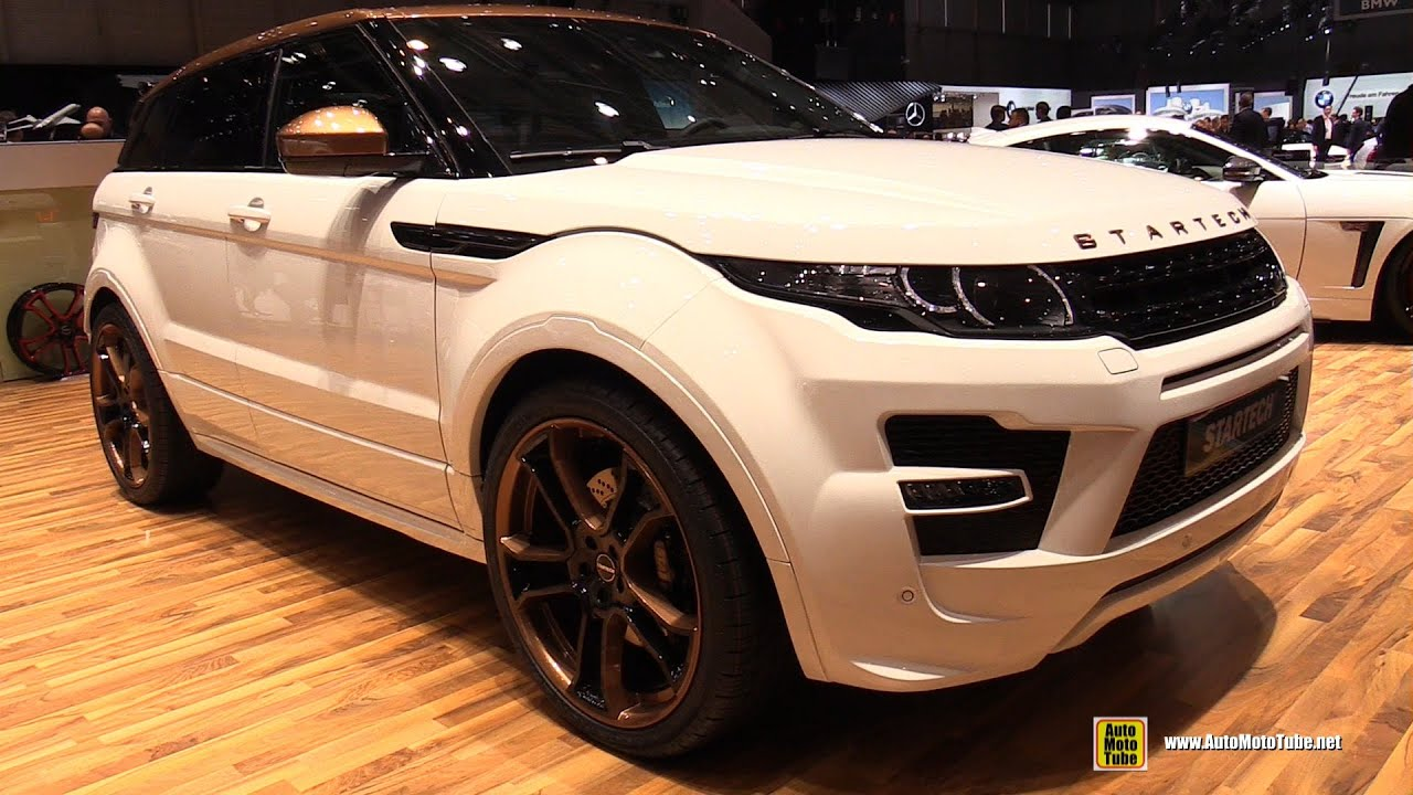2015 Range Rover Evoque By Startech Exterior And Interior