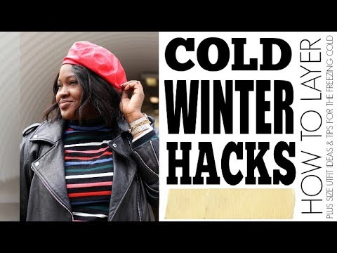 HOW TO LAYER I COLD WINTER FAT HACKS I CURVY PLUS SIZE FASHION. Http://Bit.Ly/2KBtGmj