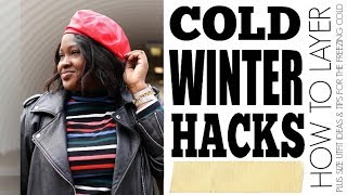HOW TO LAYER I COLD WINTER FAT HACKS I CURVY PLUS SIZE FASHION